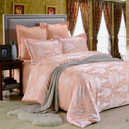 «JC-122-282» 1,5 - спальное постельное белье, Сатин-Жаккард, Вальтери