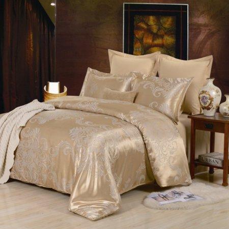 «JC-30-282» 1,5 - спальное постельное белье, Сатин-Жаккард, Вальтери