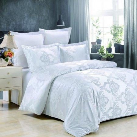 «JC-42-282» 1,5 - спальное постельное белье, Сатин-Жаккард, Вальтери