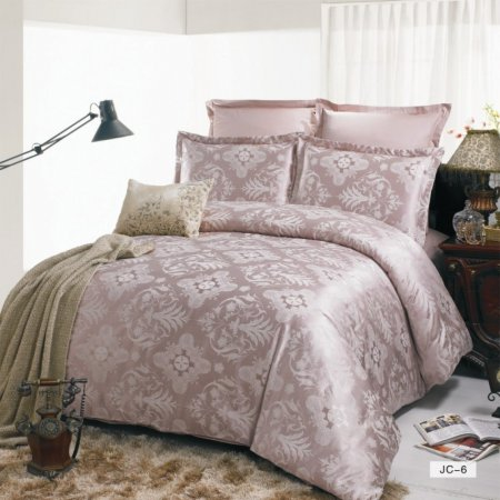 «JC-06-282» 1,5 - спальное постельное белье, Сатин-Жаккард, Вальтери