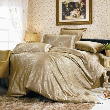 «JC-09-282» 1,5 - спальное постельное белье, Сатин-Жаккард, Вальтери