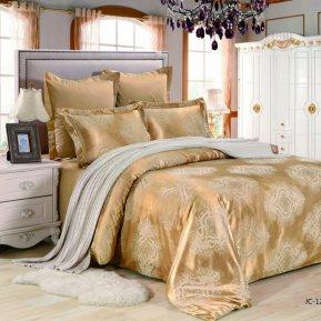 «JC-123-282» 1,5 - спальное постельное белье, Сатин-Жаккард, Вальтери