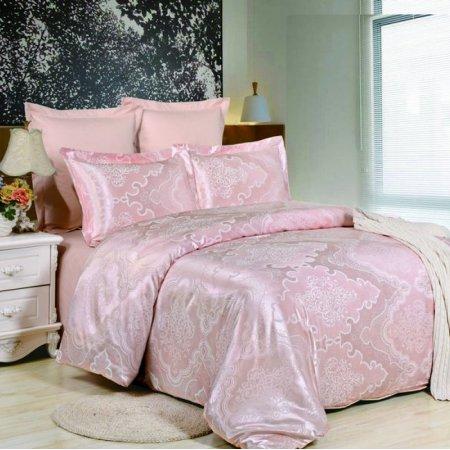 «JC-38-282» 1,5 - спальное постельное белье, Сатин-Жаккард, Вальтери