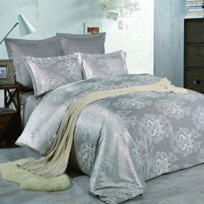 «JC-50-282» 1,5 - спальное постельное белье, Сатин-Жаккард, Вальтери