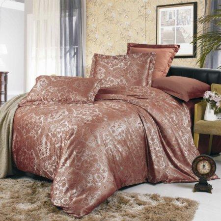 «JC-07-282» 1,5 - спальное постельное белье, Сатин-Жаккард, Вальтери