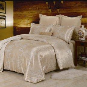 «JC-29-282» 1,5 - спальное постельное белье, Сатин-Жаккард, Вальтери