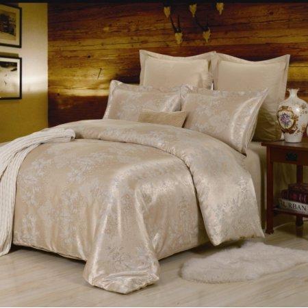 Постельное белье «JC-29-282» 1,5 - спальное, Сатин-Жаккард, Вальтери