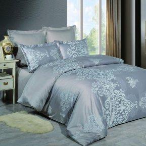 «JC-52-282» 1,5 - спальное постельное белье, Сатин-Жаккард, Вальтери