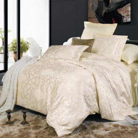 «JC-04-171» семейное постельное белье, Сатин-Жаккард, Вальтери