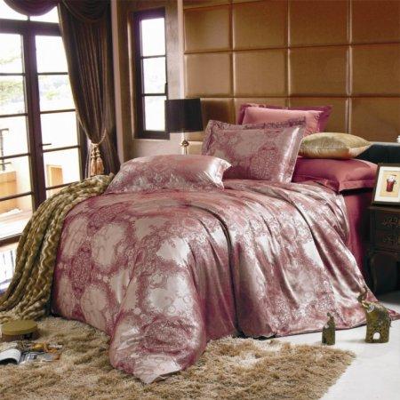 «JC-14-171» семейное постельное белье, Сатин-Жаккард, Вальтери