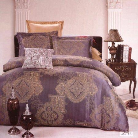 «JC-18-171» семейное постельное белье, Сатин-Жаккард, Вальтери