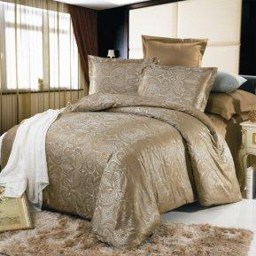 «JC-08-173» двуспальное постельное белье, Сатин-Жаккард, Вальтери