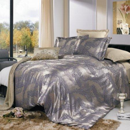 «JC-01-173» двуспальное постельное белье, Сатин-Жаккард, Вальтери