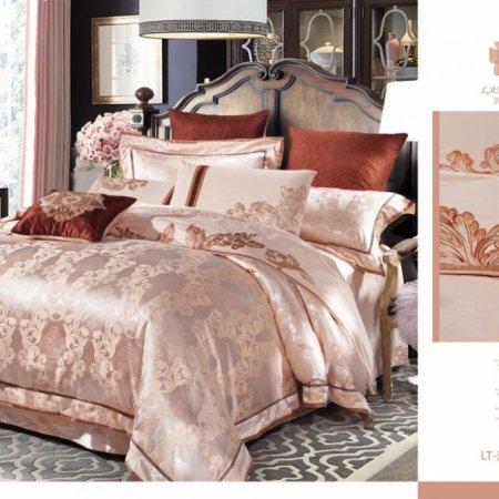 «220-122-171» семейное постельное белье, Сатин-Жаккард, Вальтери