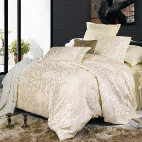 «JC-04-173» двуспальное постельное белье, Сатин-Жаккард, Вальтери