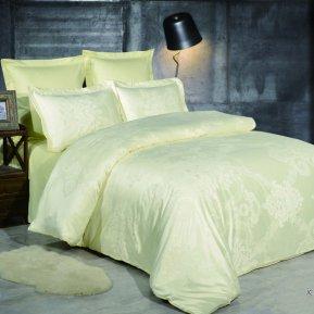 «JC-45-173» двуспальное постельное белье, Сатин-Жаккард, Вальтери