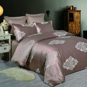 «JC-56-173» двуспальное постельное белье, Сатин-Жаккард, Вальтери