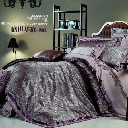 «220-126-171» семейное постельное белье, Сатин-Жаккард, Вальтери