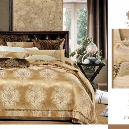 «220-123-171» семейное постельное белье, Сатин-Жаккард, Вальтери