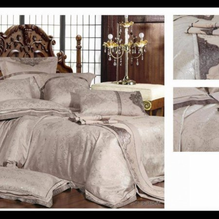 «220-59-171» семейное постельное белье, Сатин-Жаккард, Вальтери
