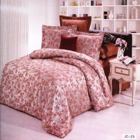 «JC-23-173» двуспальное постельное белье, Сатин-Жаккард, Вальтери