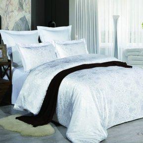 «JC-54-173» двуспальное постельное белье, Сатин-Жаккард, Вальтери
