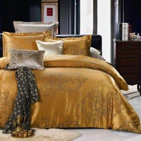 «JC-15-173» двуспальное постельное белье, Сатин-Жаккард, Вальтери