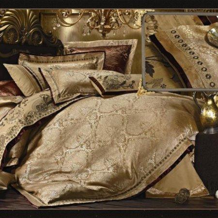 «220-86-172» ЕВРО постельное белье, Сатин-Жаккард, Вальтери