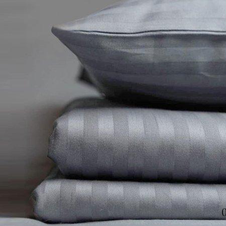 Постельное белье «15/005-SS» 1,5 - спальное, Сатин-страйп, Cleo