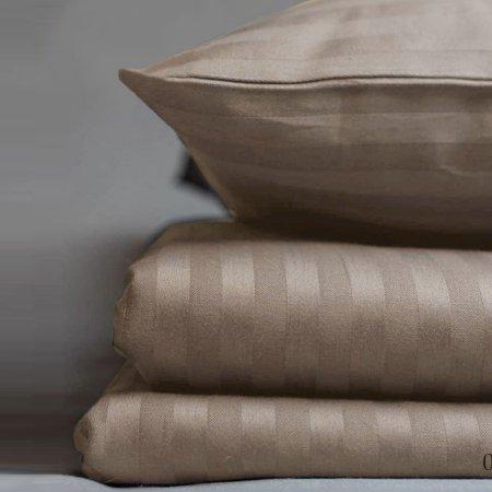 Постельное белье «15/003-SS» 1,5 - спальное, Сатин-страйп, Cleo