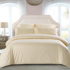 «CST01-02» 1,5 - спальное постельное белье, Сатин-Страйп, TANGO