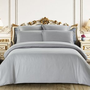 «CST01-03» 1,5 - спальное постельное белье, Сатин-Страйп, TANGO