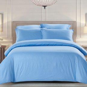 «CST01-04» 1,5 - спальное постельное белье, Сатин-Страйп, TANGO