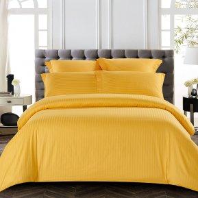 «CST01-09» 1,5 - спальное постельное белье, Сатин-Страйп, TANGO