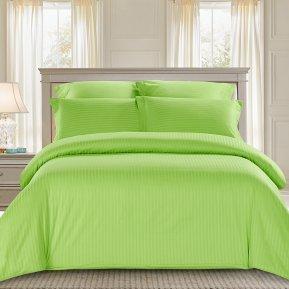«CST01-10» 1,5 - спальное постельное белье, Сатин-Страйп, TANGO