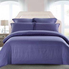 «CST01-11» 1,5 - спальное постельное белье, Сатин-Страйп, TANGO
