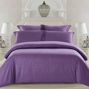 «CST01-14» 1,5 - спальное постельное белье, Сатин-Страйп, TANGO
