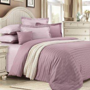 «Карамель» 1,5 - спальное постельное белье, САТИН-Страйп, Текс-Дизайн