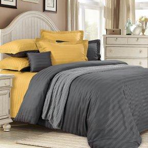 «Медовый раф» 1,5 - спальное постельное белье, САТИН-Страйп, Текс-Дизайн