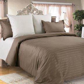 «Капучино №2» 1,5 - спальное постельное белье, САТИН-Страйп, Текс-Дизайн