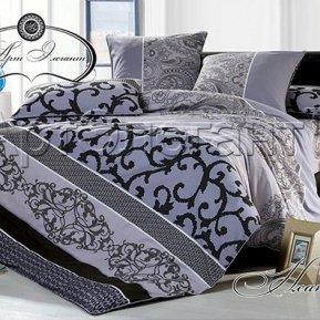 «Неаполь №2» ЕВРО постельное белье, САТИН-Велюр, Арт Дизайн