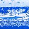 """Скатерть рогожка """"Снежные узоры"""" 180х145, Арт Дизайн"""