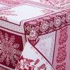 """Скатерть столовая """"Метелица бордо"""" ,150х145, Арт Дизайн"""