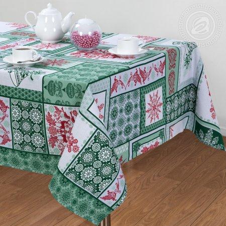 """Скатерть столовая """"Метелица зел"""" ,120х145, Арт Дизайн"""