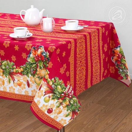 """Скатерть столовая """"Рождество"""" ,180х145, Арт Дизайн"""