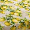 """Скатерть рогожка """"Лимоны"""" 150х145, Текс-Дизайн"""