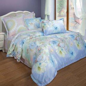 «Сильвия №2» двуспальное + евро постельное белье, Тенсел, Арт Дизайн