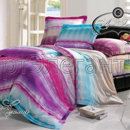 Постельное белье «Азалия» двуспальное с европростыней, Макосатин, Арт Дизайн