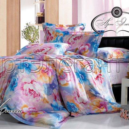 Постельное белье «Инесса» двуспальное с европростыней, Макосатин, Арт Дизайн