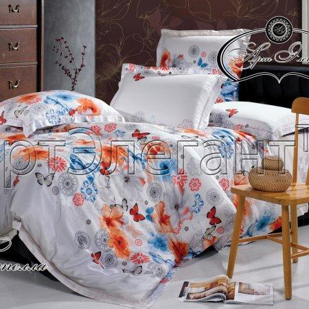 Постельное белье «Стелла» двуспальное с европростыней, Макосатин, Арт Дизайн